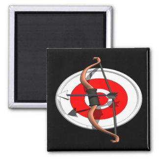 Archery 4 magnet
