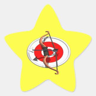 Archery 4 star sticker