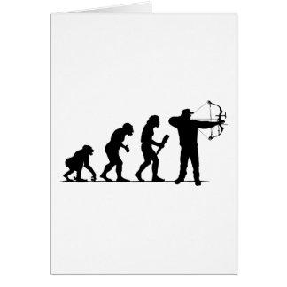 Archery Greeting Card