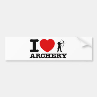 Archery Designs Bumper Sticker