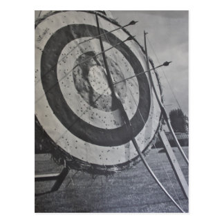 Archery Equipment Postcard