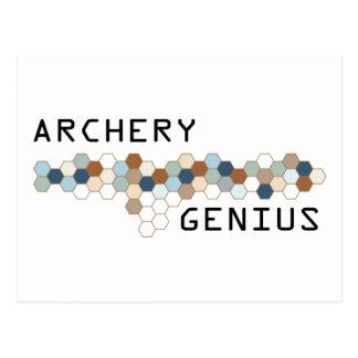 Archery Genius Post Cards