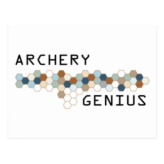 Archery Genius Postcard