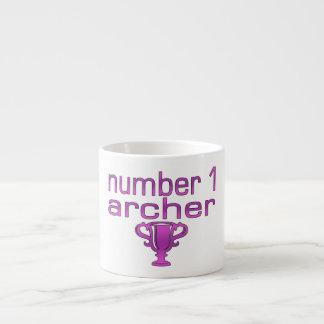 Archery Gifts for Her: Number 1 Archer Espresso Mug