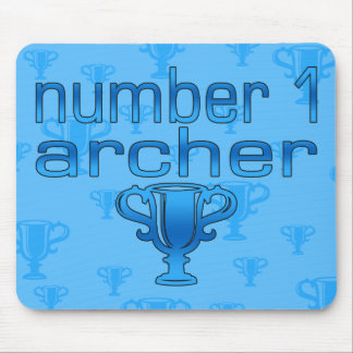 Archery Gifts for Him: Number 1 Archer Mouse Mat