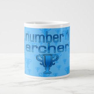 Archery Gifts for Him: Number 1 Archer 20 Oz Large Ceramic Coffee Mug