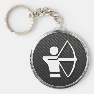 Archery Icon Key Ring