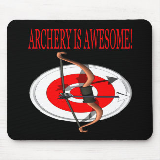 Archery Is Awesome Mouse Pad