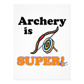 archery is super custom announcements