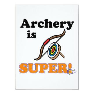 archery is super custom announcements