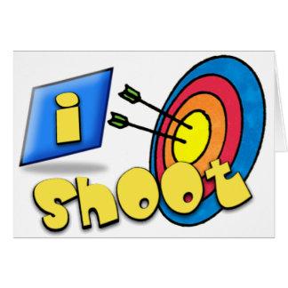 ARCHERY ~ iSHOOT - I SHOOT Greeting Card