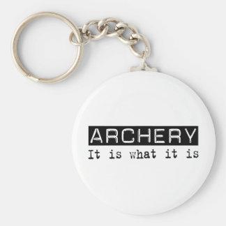 Archery It Is Key Ring