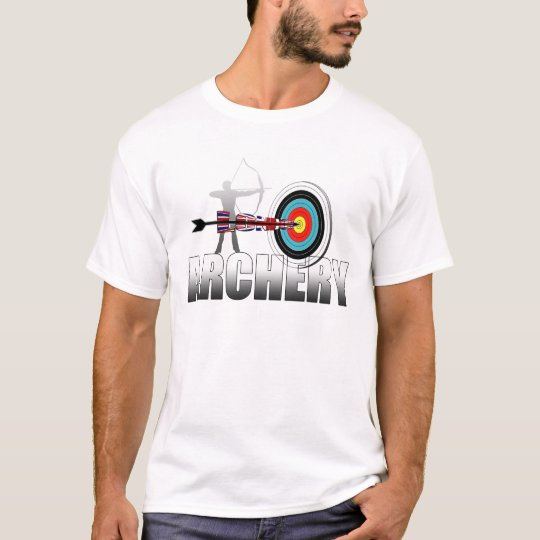 Archery London Target Archers artwork T-Shirt