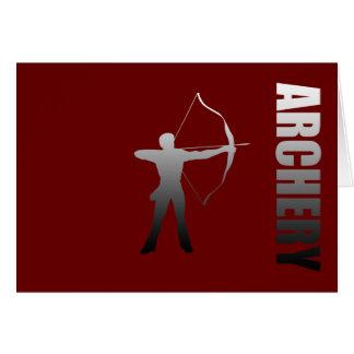 Archery London to Rio de Janeiro Archers Card