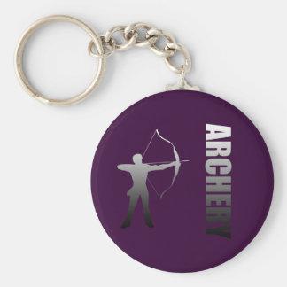 Archery London to Rio de Janeiro Archers Key Ring