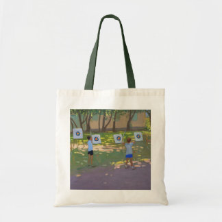 Archery practise France Tote Bag