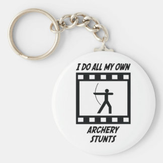 Archery Stunts Key Ring