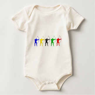 Archery Summer Games   Archer Sports Baby Bodysuit