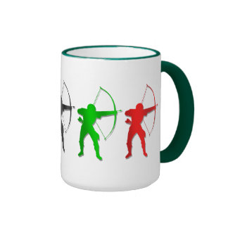 Archery Summer Games   Archer Sports Ringer Mug