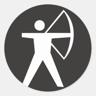 Archery Symbol Stickers