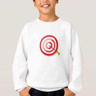 Archery Target and Arrow Sweatshirt