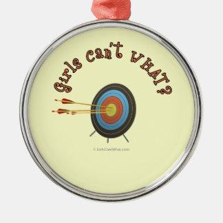 Archery Target Bullseye Christmas Ornament