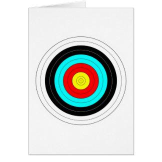Archery Target Card