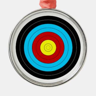 Archery Target Christmas Ornament