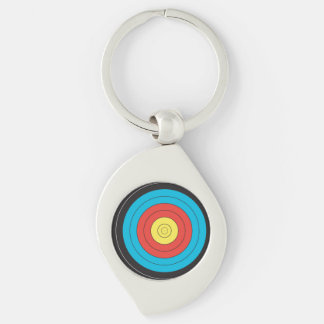 """""""Archery Target"""" design gifts and products Key Ring"""