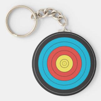 """Archery Target"" design jewelry Key Ring"