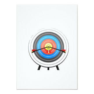 Archery Target Invitations