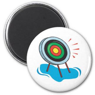 Archery Target Fridge Magnets
