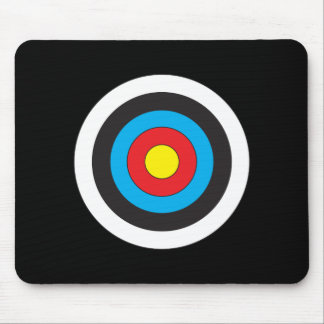 Archery Target Mouse Pad