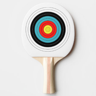 Archery Target Ping Pong Paddle