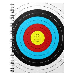 Archery Target Spiral Notebook