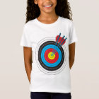 Archery Target with Arrows T-Shirt
