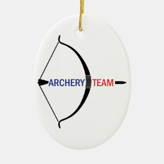 ARCHERY TEAM CHRISTMAS ORNAMENT