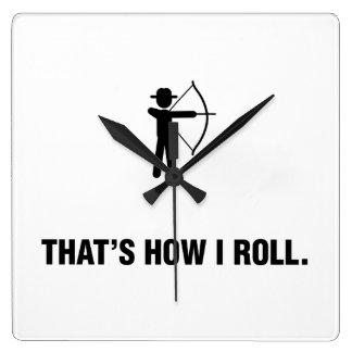 Archery Wallclocks