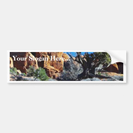 Arches Arches National Park Bumper Stickers