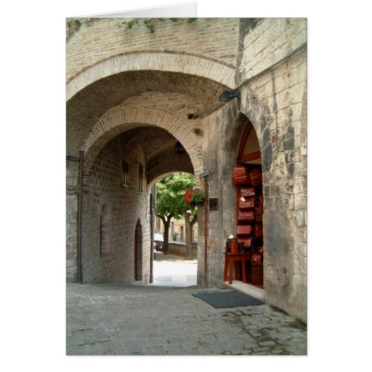 arches assisi card