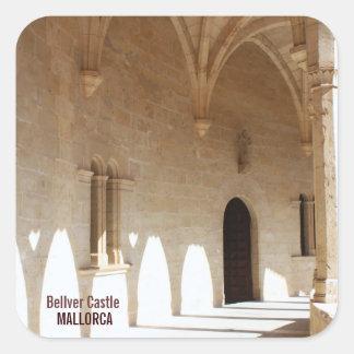 Arches in Bellver Castle Sticker