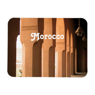 Arches in Morocco Magnet