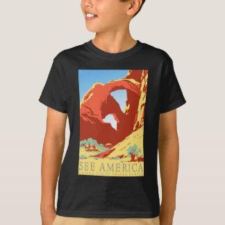 Arches National Park Colorado co Vintage Travel T-Shirt