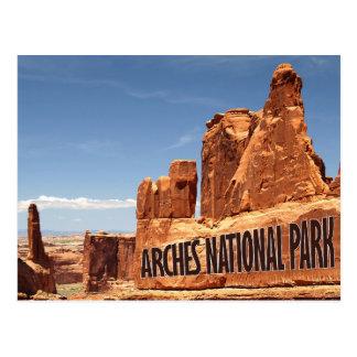 Arches National Park Eastern Utah Postcard