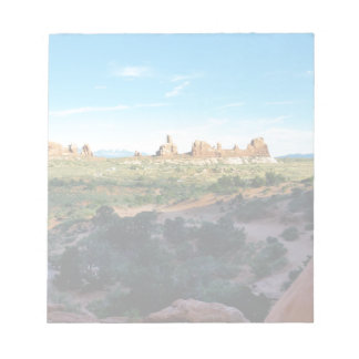 Arches National Park from a distance Notepads