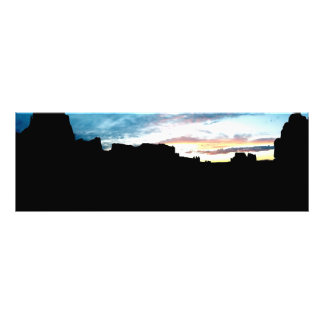 Arches National Park La Sal Mountains Viewpoint Su Photographic Print