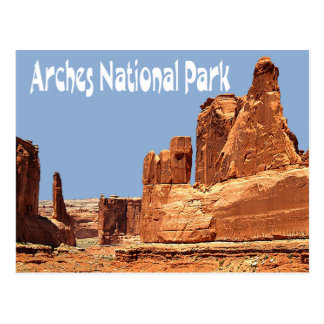 Arches National Park, Moab Utah Postcard Post Cards
