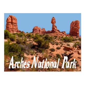 Arches National Park, Moab Utah Postcard Postcard
