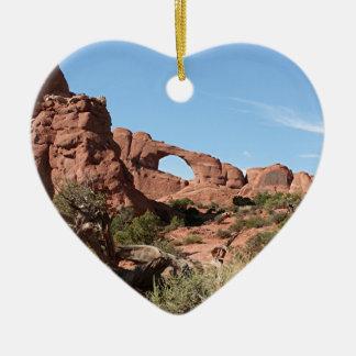 Arches National Park, near Moab, Utah, USA Christmas Ornament