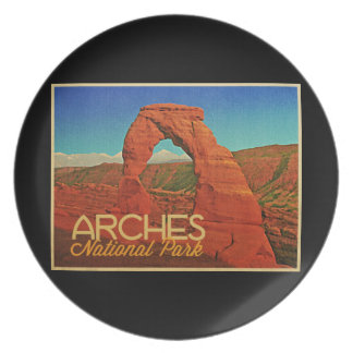Arches National Park Plate